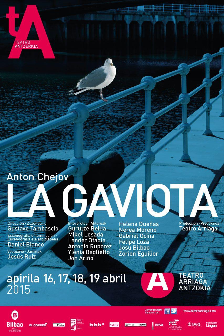 TEATRO La Gaviota   Carteleras, La gaviota, Teatro