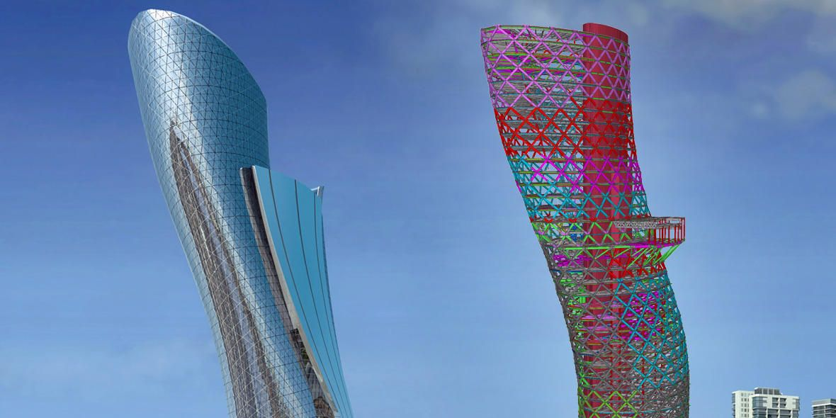 Capital Gate, Abu Dhabi | RMJM Dubai