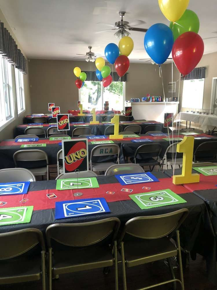 UNO THEMED Birthday Party Ideas Photo 1 of 19 Catch My