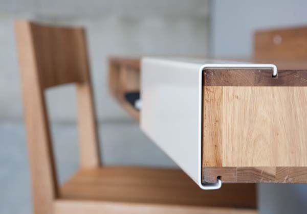 LAX wall mount desk by MASHstudios 2 35 Super Modern Office Desk Designs
