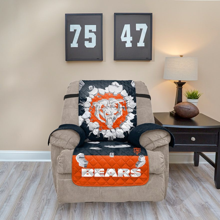 Pleasing Chicago Bears Breakthrough Recliner Chair Cover In 2019 Ocoug Best Dining Table And Chair Ideas Images Ocougorg