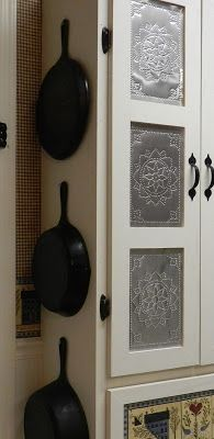 Punched Tin Inset Into A Set Of Cabinet Doors I Really Want To Do This If Can Fine Supplier