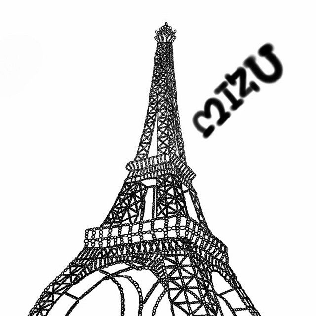 رسم برج ايفل Tower Drawings Eiffel Tower