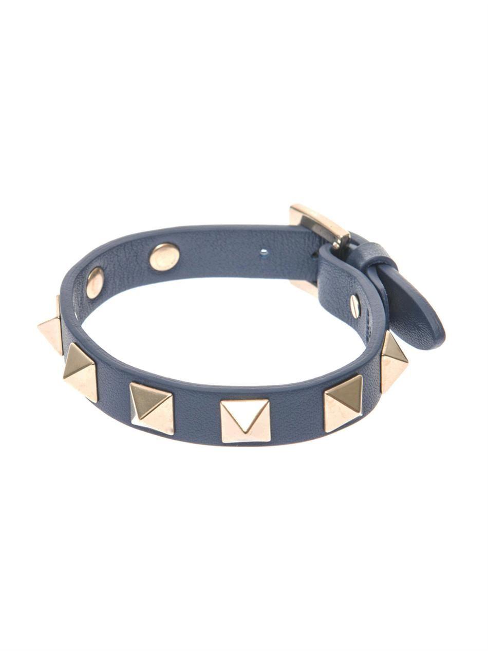 Valentino Rockstud bracelet - Blue nySL55Xr