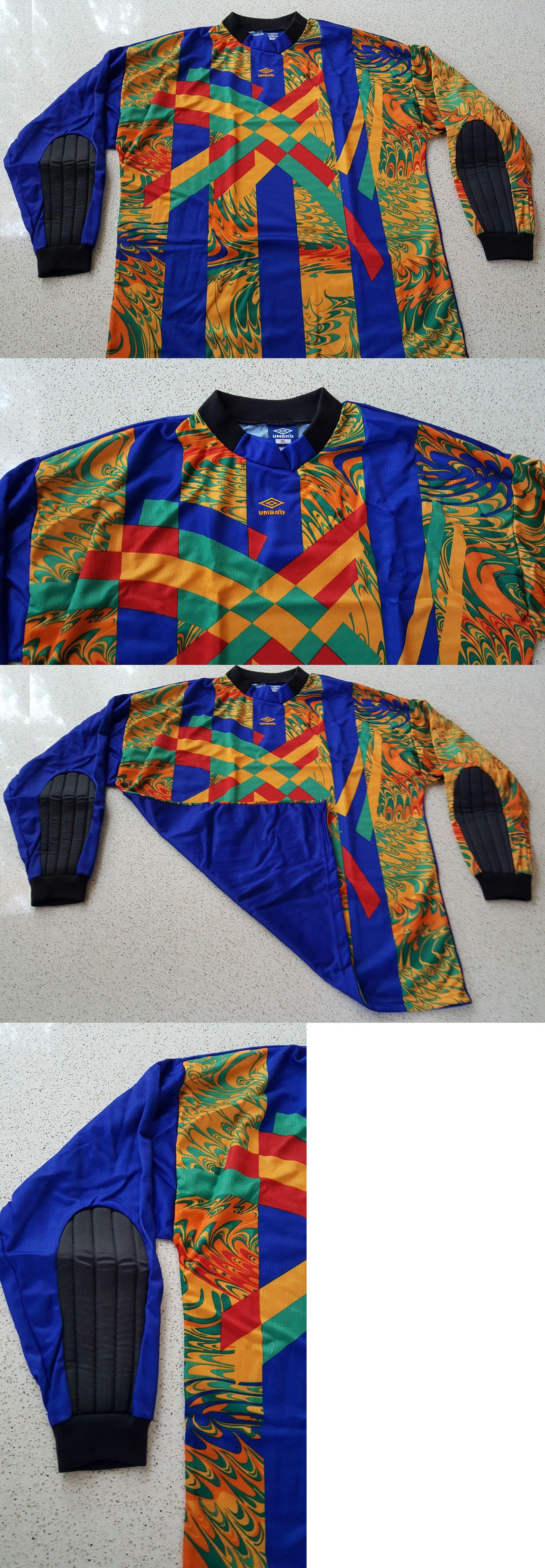 7f8f454960a Umbro Goalkeeper Jersey Retro Vintage 90s ~ Padded ~ Adult XL Men