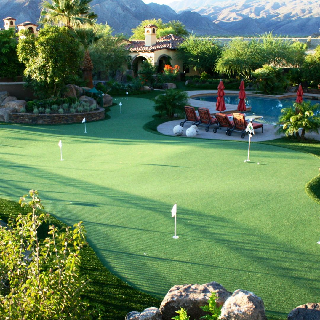 thinking about mini golf on your backyard with btg it u0027s possible