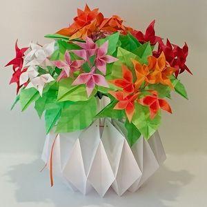 Summer breeze origami flower arrangement origami flowers origami paper summer breeze origami flower arrangement mightylinksfo