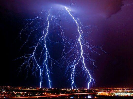 Lightning over Arizona