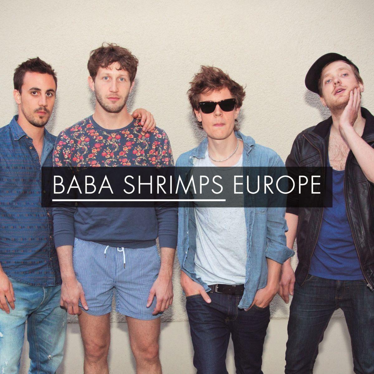 single cover art [12/2013]: baba shrimps - europe