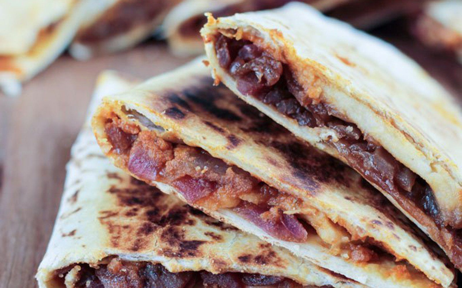 A little creamy, a little crispy, a little sweet, a little smoky, and even a little spicy if desired, these unique quesadillas are a little piece of heaven. Serve them warm with a cool dollop of vegan sour cream.