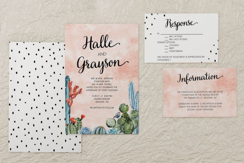 Magnet Street Wedding Invitations: Rectangle Wedding Invitation By