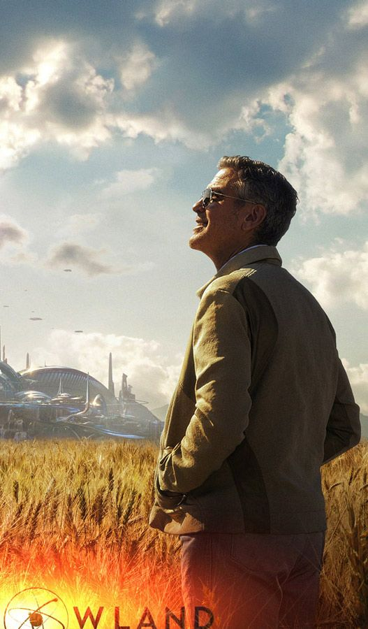 Wallpaper Tomorrowland best movies of George Clooney