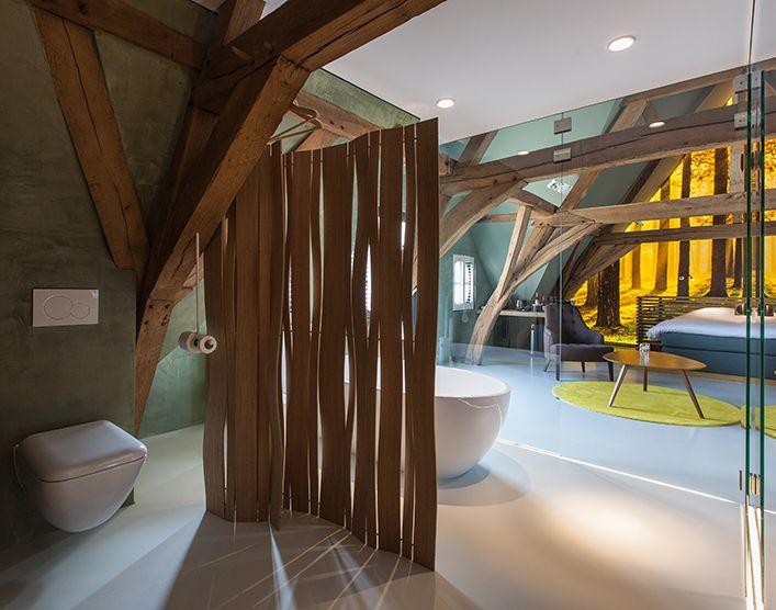 Design Loft unter dem Dach #design #loft Dachgeschoss - wohnideen unterm dach