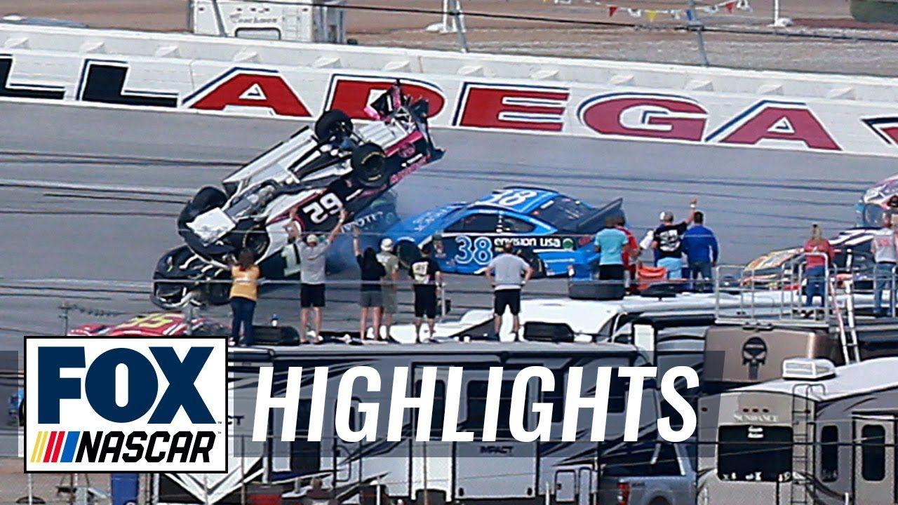 Playoff Race 5 — Talladega NASCAR on FOX HIGHLIGHTS