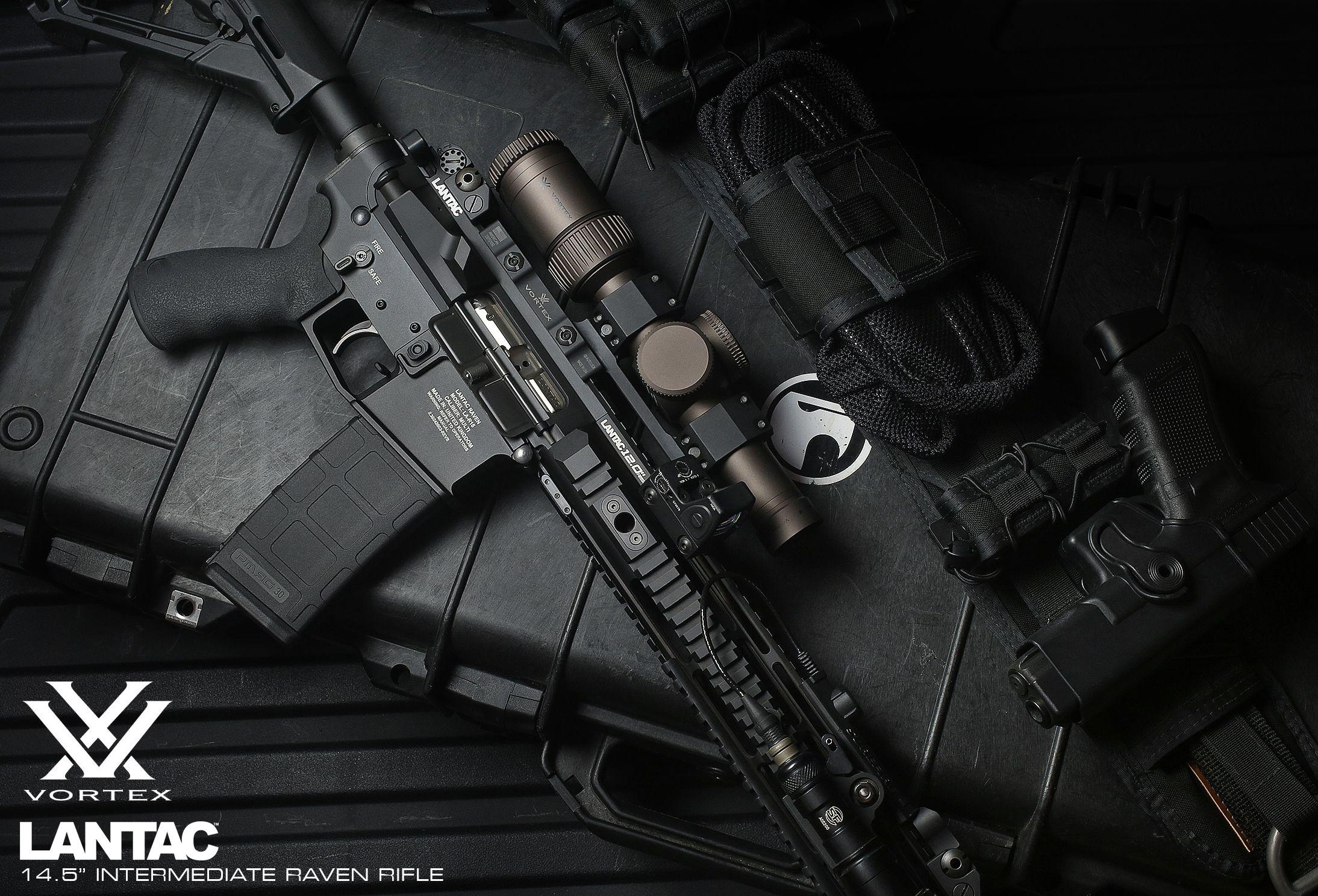 LANTAC Raven™ with Vortex Optics 1-6X Razor.