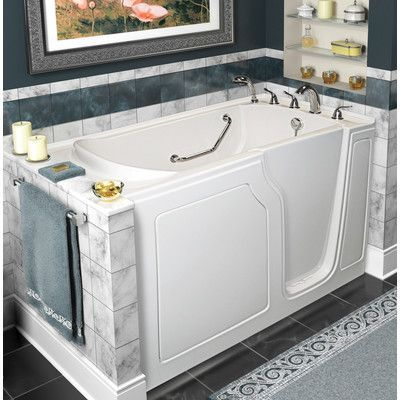 A Walk In Tubs Dignity 48 X 28 Whirlpool And Air Jetted Walk In
