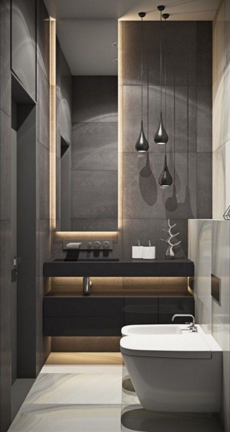96 Fabulous Luxurious Bathroom Design Ideas You Need To Know Bathroomideas Bathroomdesign Bathro Apartment Bathroom Design Modern Bathroom Elegant Bathroom