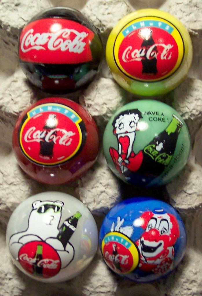Coca Cola Marbles Coca Cola
