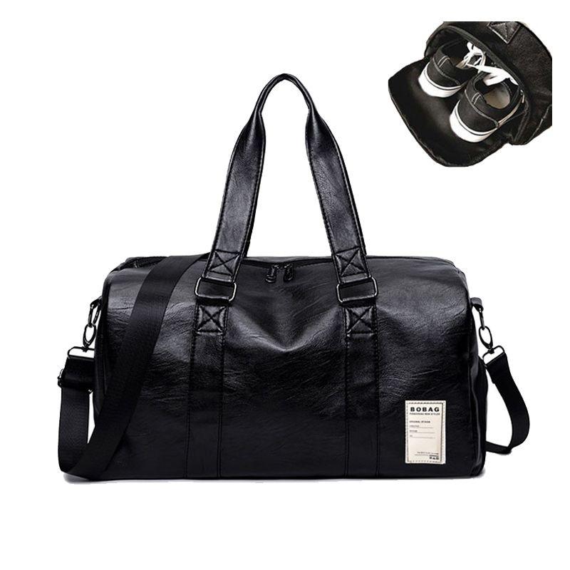 ccd7a8dea7e1 купить Искусственная кожа тренажерный зал мужской сумка Топ Женская спортивная  сумка для обуви для Для женщин Фитнес через плечо Йоги Сумка дорож.