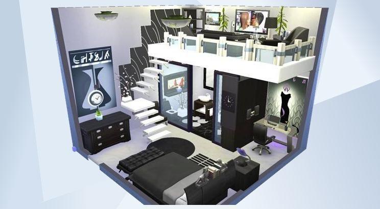 The Sims 4 のギャラリーでこの部屋をチェック Dom Simsov