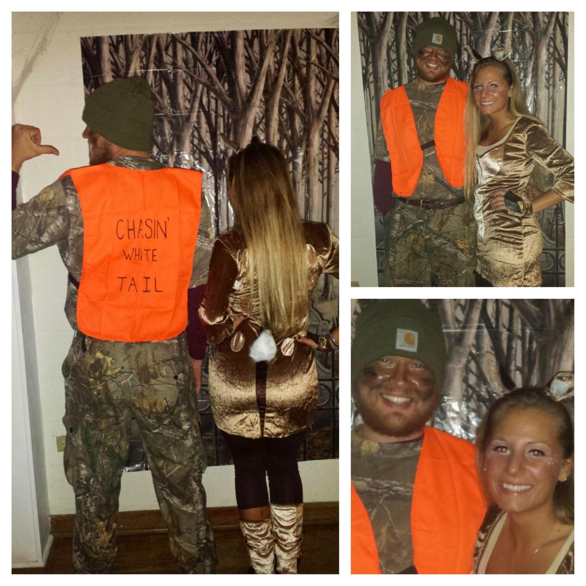 86157c4266045 Couples Halloween Costume With My Hunter U003c3 Sc 1 St Pinterest