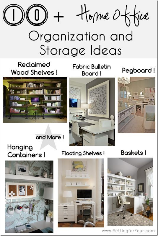 10 helpful home office storage and organizing ideas do for Do it yourself home organization