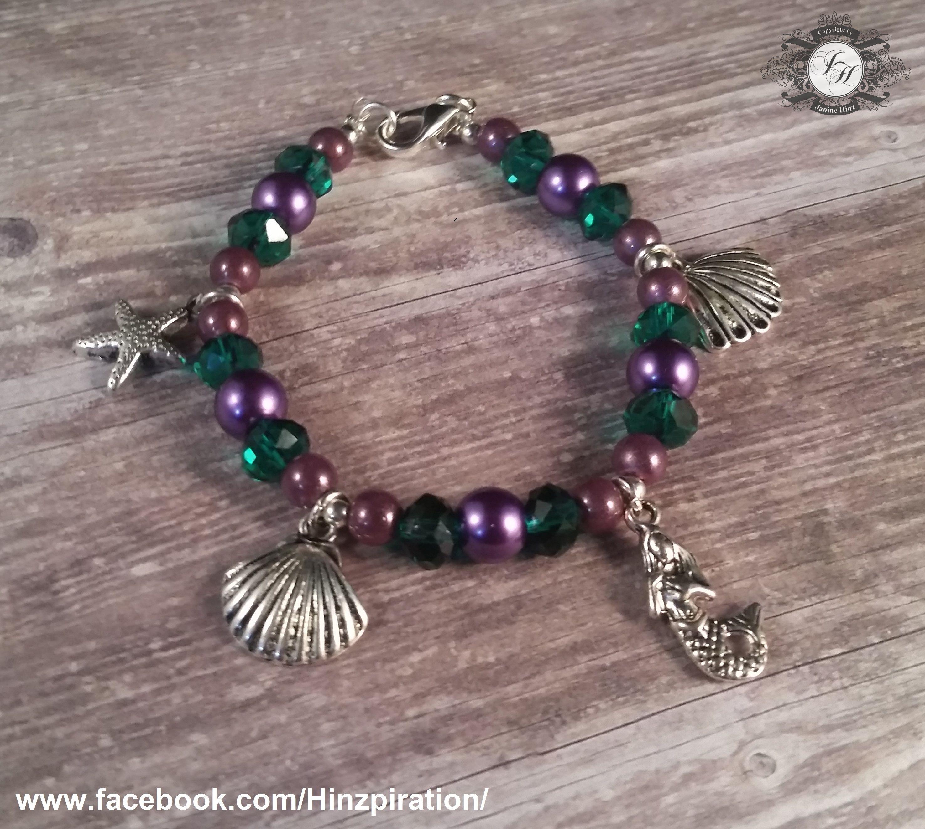 Märchen-Armband: Die kleine Meerjungfrau