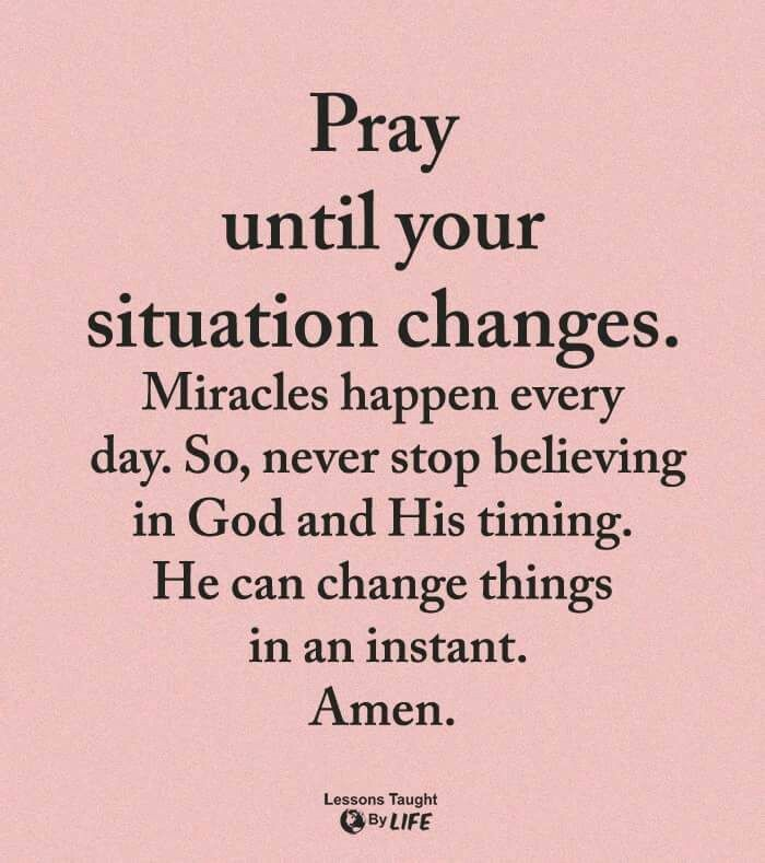 Pray With An Expectant Faith God Is Good All The Time Prayer