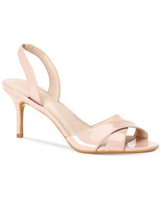 Calvin Klein Women's Lucette Slingback Pumps - Sandals - Shoes - Macy's