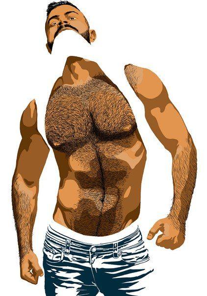 Gay man toons