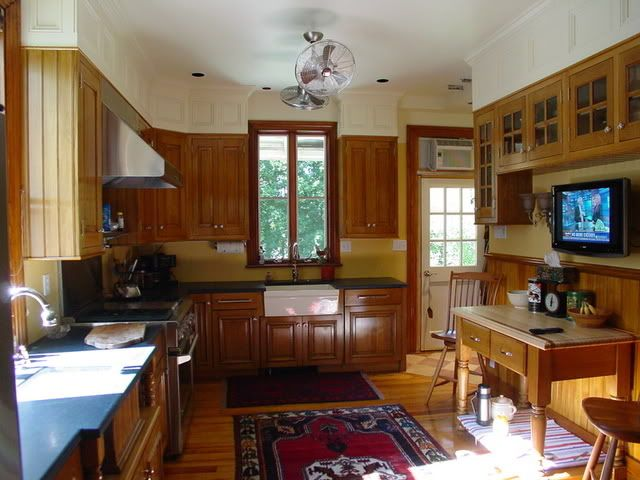 help with how to deal with soffits in kitchen remodel | kitchen