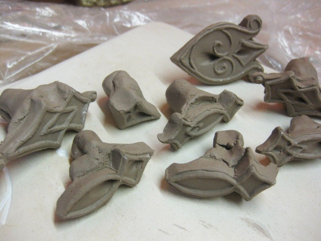 How to make clay plaster - Gary Jackson Collection Of Kiefferesque Stamps How To Make Your Own Clay Stamps
