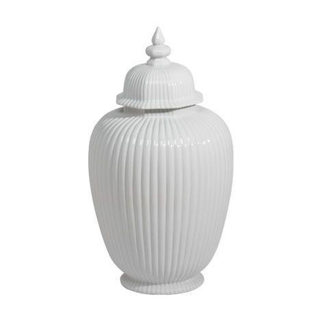 Large Decorative Jars Large White Temple Jar   Large  New Decorflorals  Pinterest