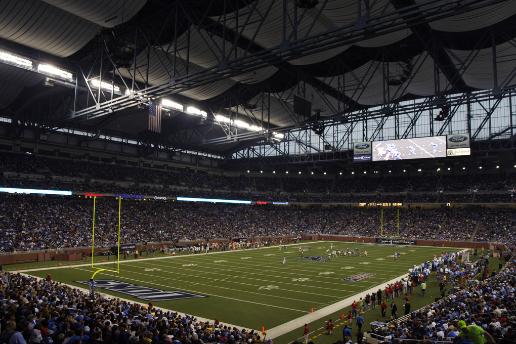 Ford Field Home Of The Detroit Lions Ford Field Football Stadiums Detroit Lions Football