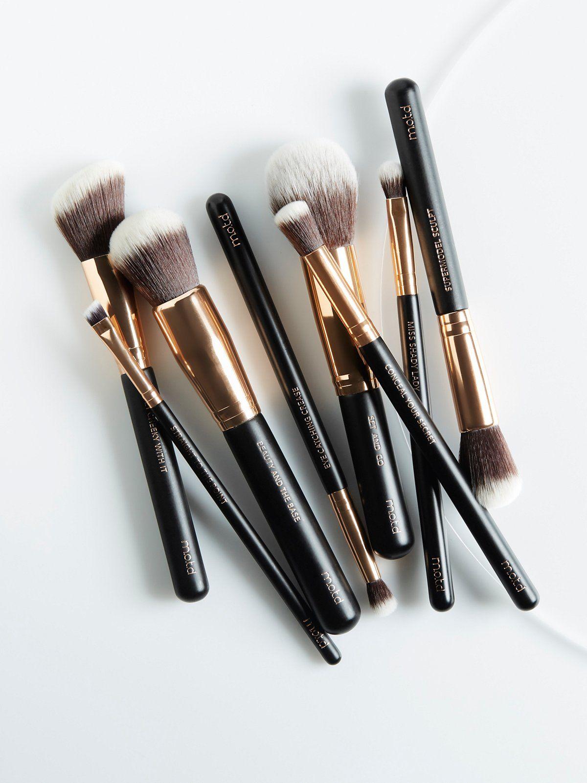 M.O.T.D Cosmetics Lux Vegan Essential Brush Set