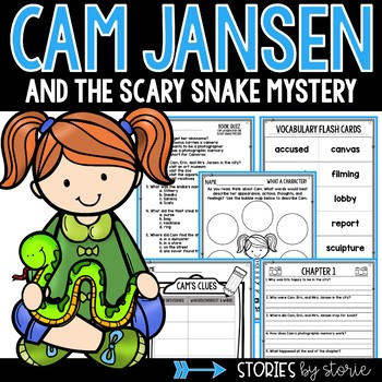 Cam Jansen And The Scary Snake Mystery Book Questions Vocabulary This Or That Questions Vocabulary Flash Cards 2nd Grade Reading
