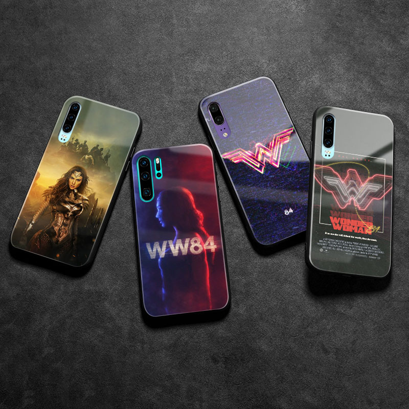 Wonder Woman 1984 Glass Phone Case Cover Coque For Huawei Honor V ...