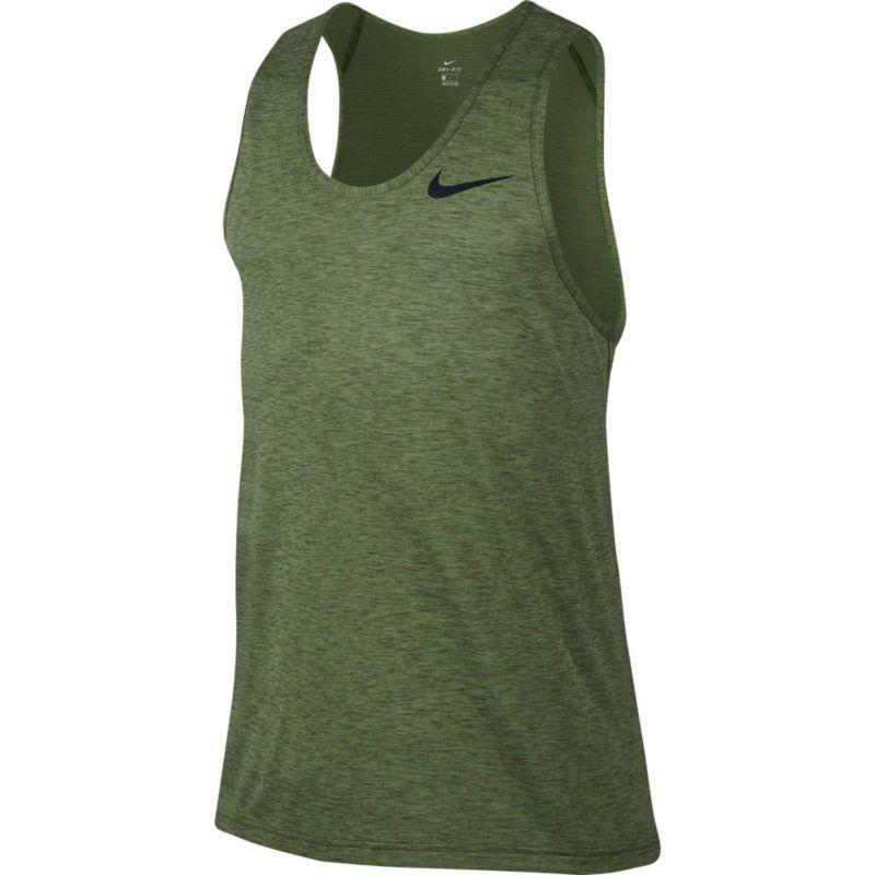 3d709b43d Nike Men's Hyper Dry Breathe Sleeveless Shirt, Size: Large, Palm  Green/Legion Green