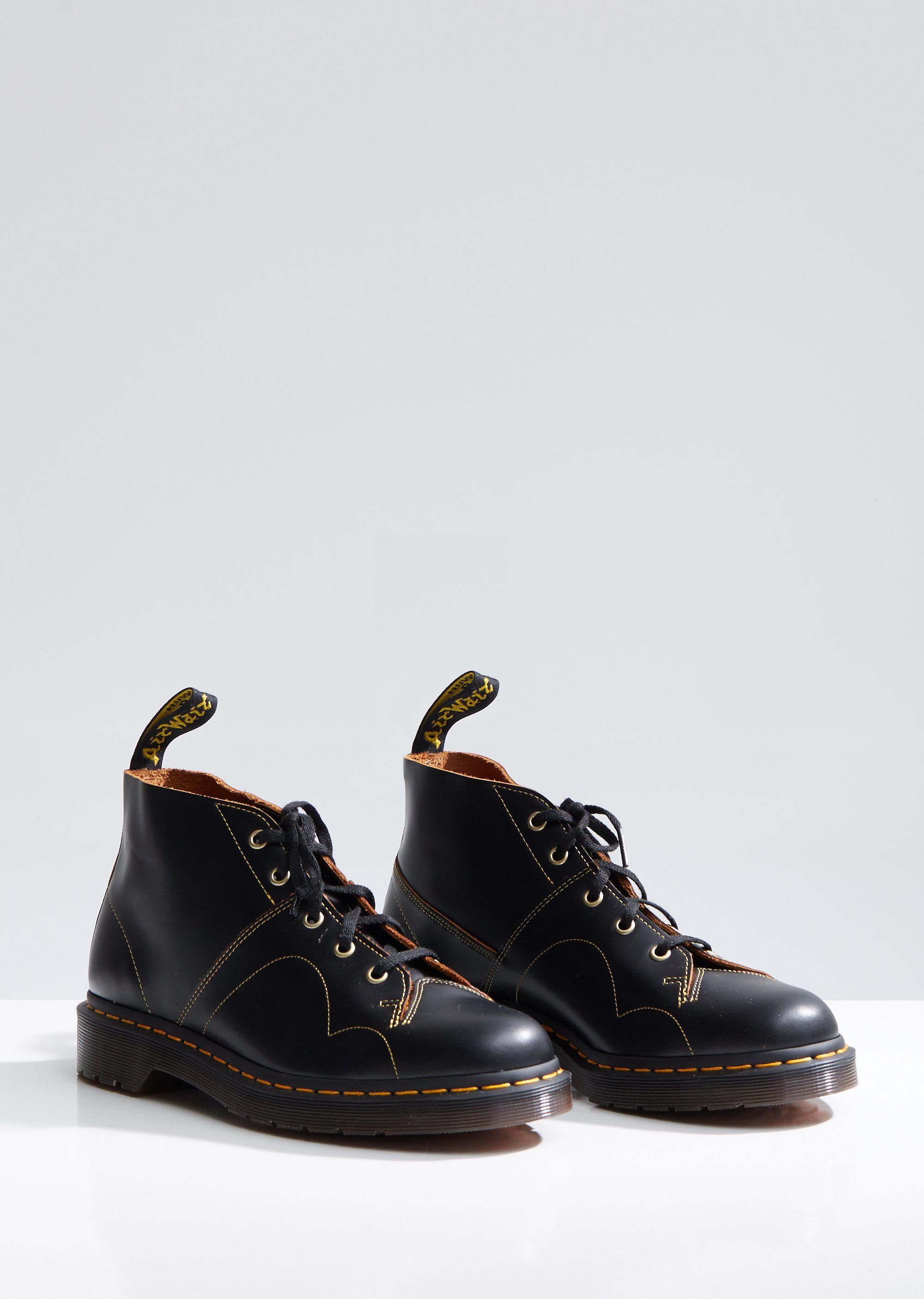 aa17f60d0f644 Men's Black Church Monkey Boots in 2019 | Garms | Boots, Dr martens ...