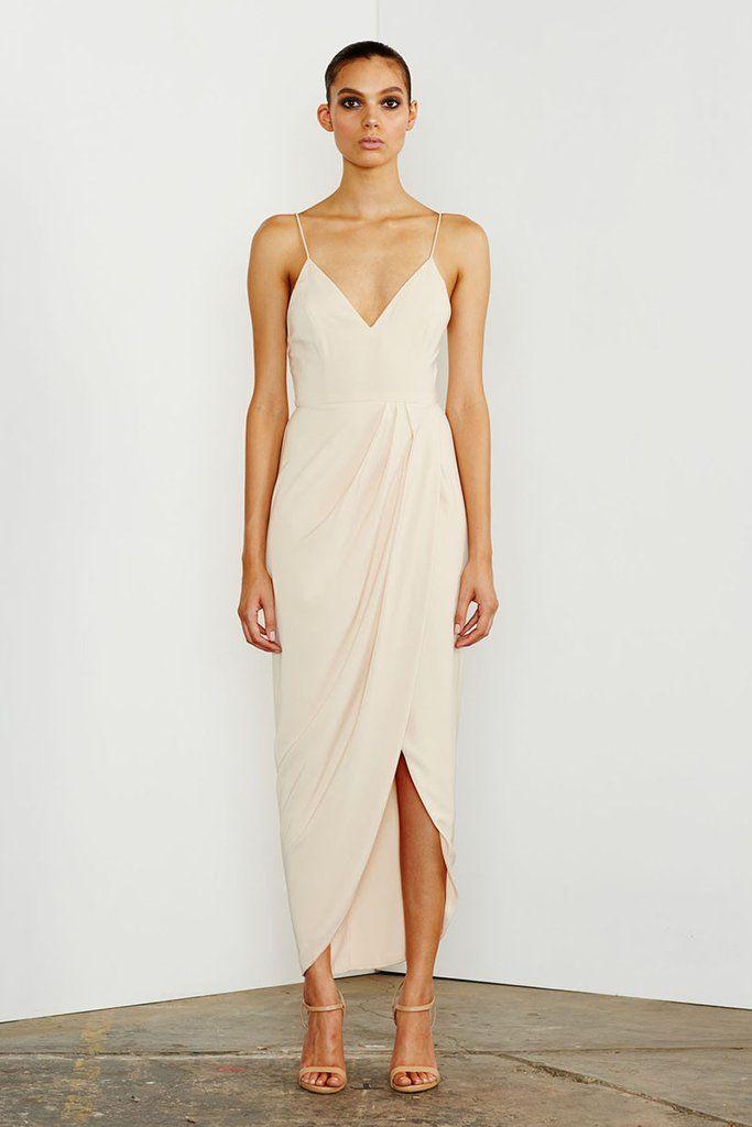 1c94af0aa1e CORE COCKTAIL DRESS - NUDE – Shona Joy (bridesmaids)
