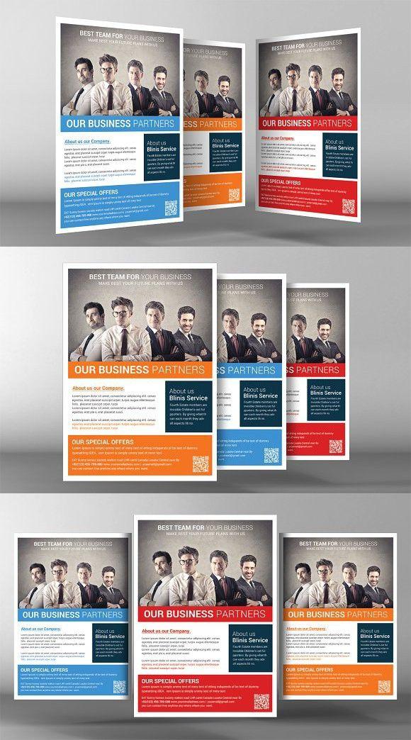 Corporate Business Flyer Template A4 Flyer A4 Flyer Pinterest