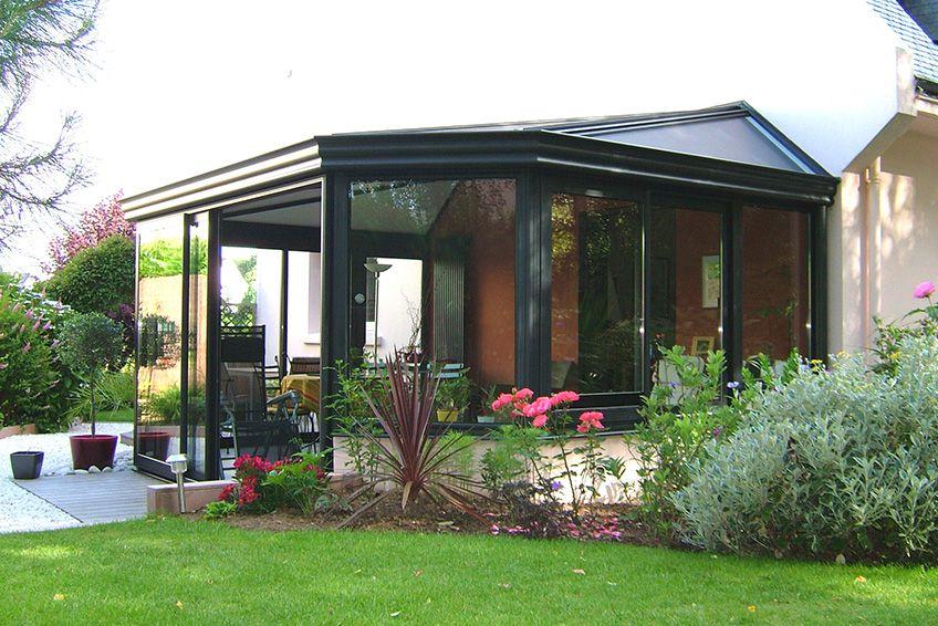 Les vérandas en kit | Modele de veranda, Agrandissement maison et Permis de construire