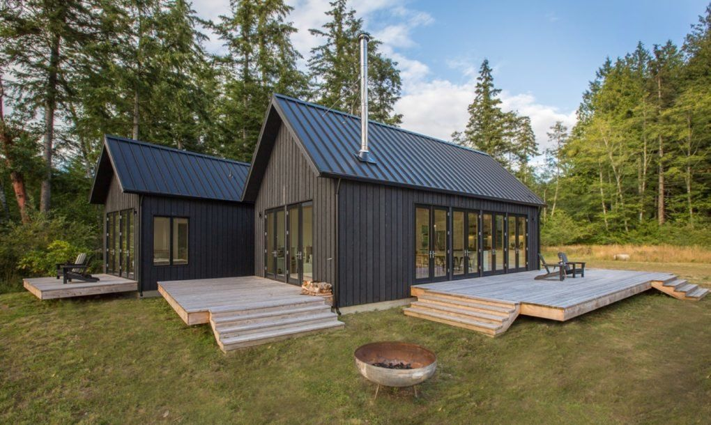 Danish-inspired holiday cabin is a dreamy Pacific Northwest hideout ...