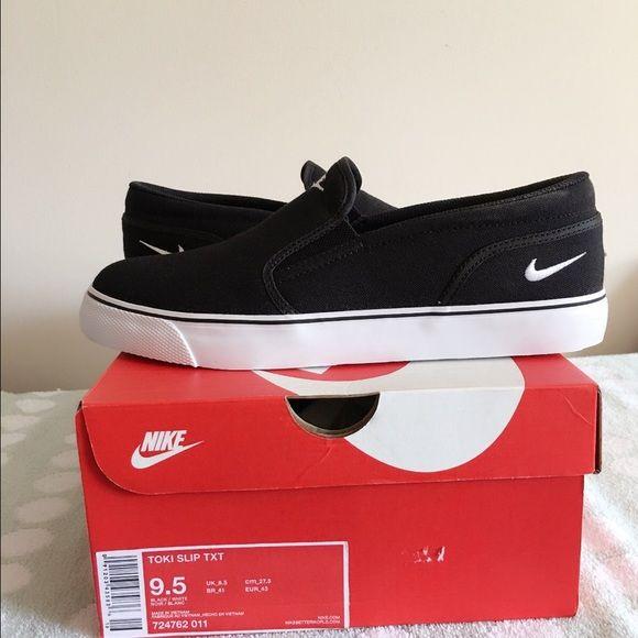 TOKI SLIP TXT Nike Toki Slip-on men and women size