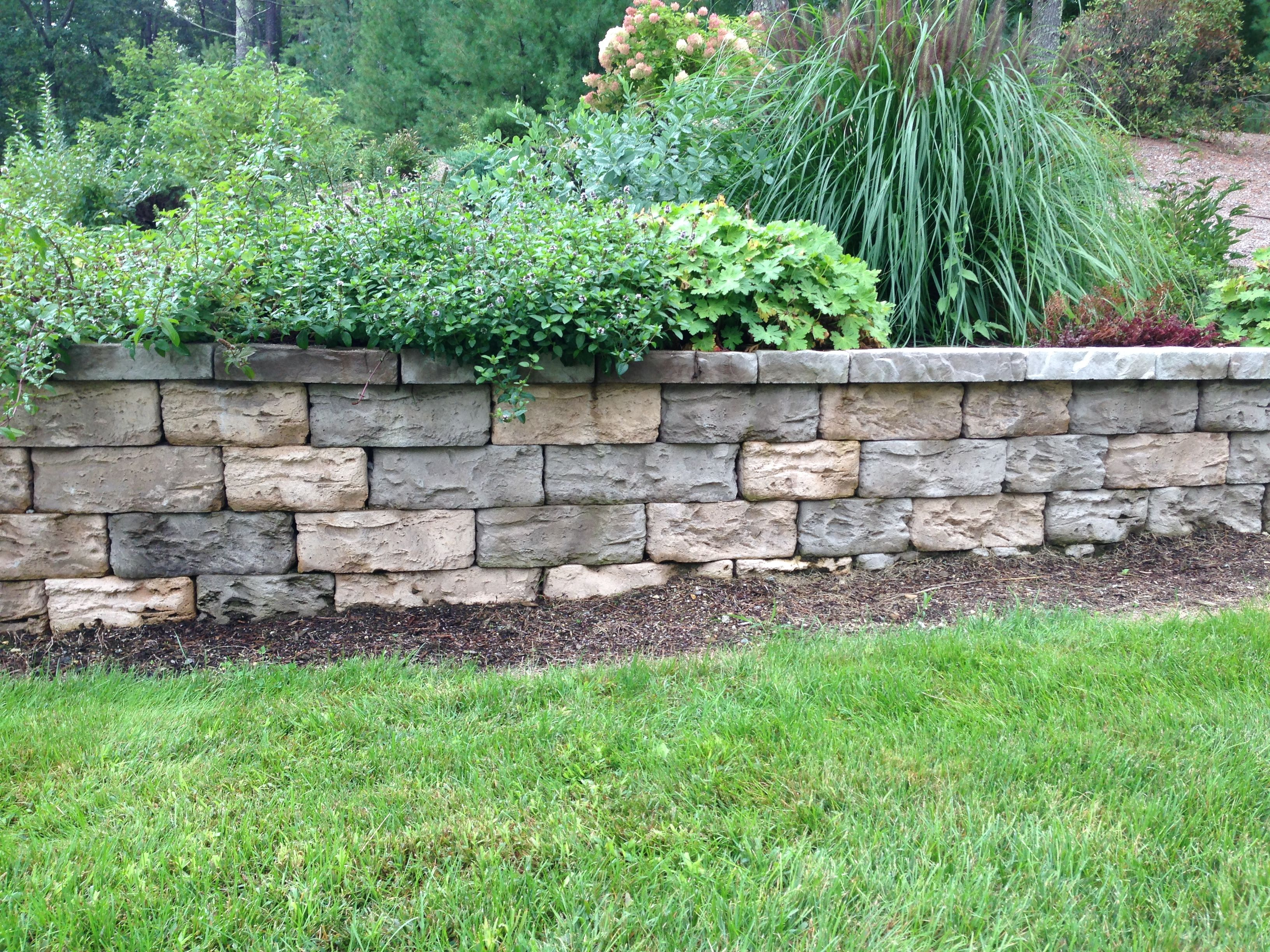 Retaining Wall Certifications Rivet Landscaping Fine Gardening