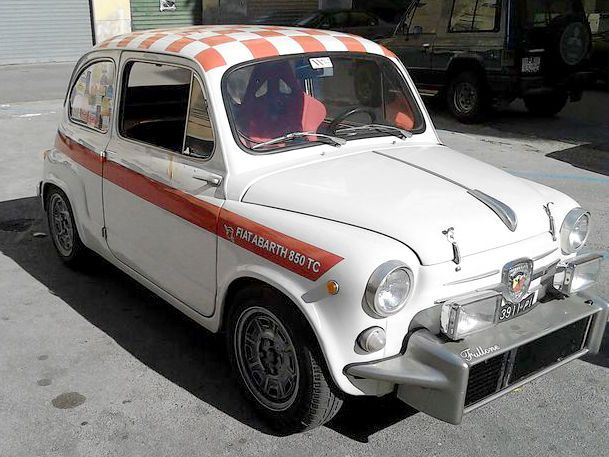 Fiat Abarth 850tc Nurburgring Spec 1963 Incredible Condition