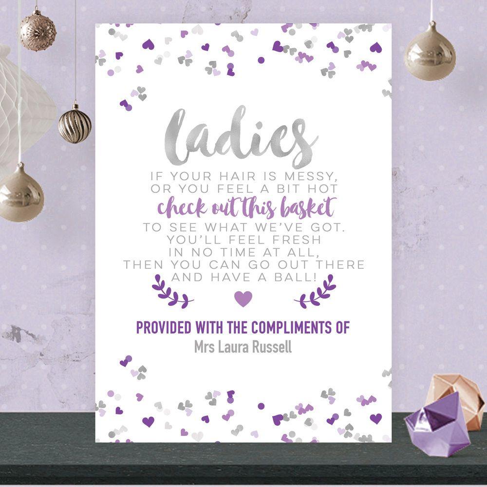Details About Personalised Ladies Toiletry Bathroom
