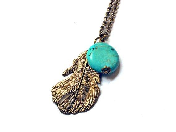 Turquenite necklace