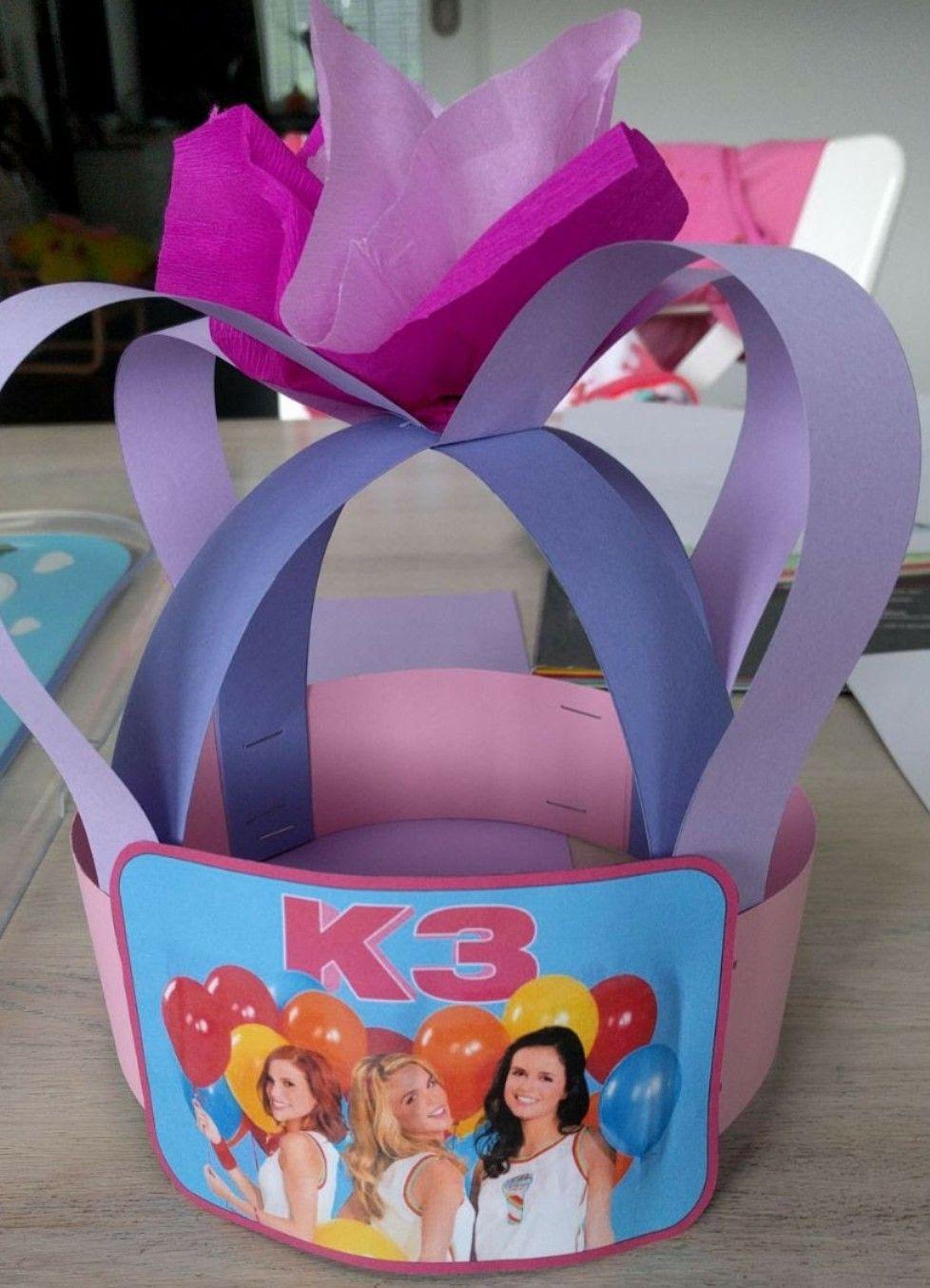 Verjaardagskroon K3 Verjaardag Verjaardag Kronen
