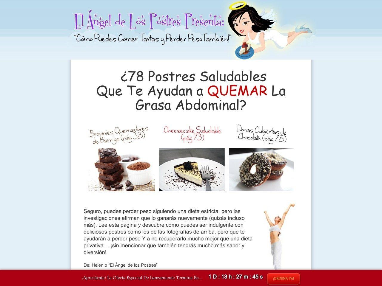 ① El Angel De Los Postres - Recetas De Postres Quema Grasa! - http://www.vnulab.be/lab-review/%e2%91%a0-el-angel-de-los-postres-recetas-de-postres-quema-grasa